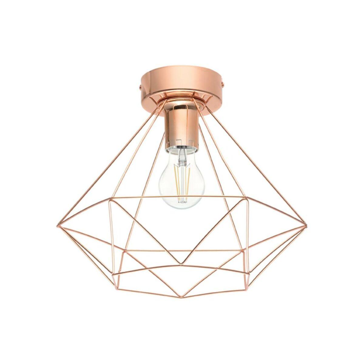 Lampa sufitowa BYRON miedziana E27 INSPIRE