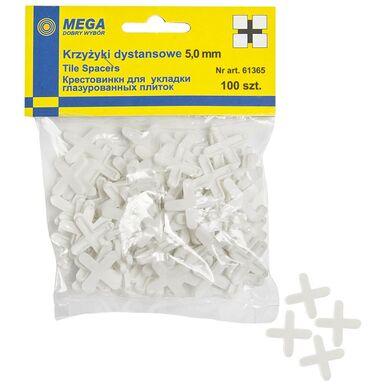 Krzyżyki 5,0 MM 100 SZT MEGA