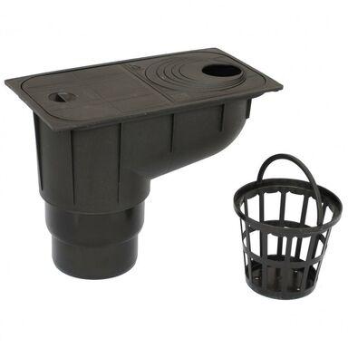 Osadnik rynnowy Czarny SCALA PLASTICS