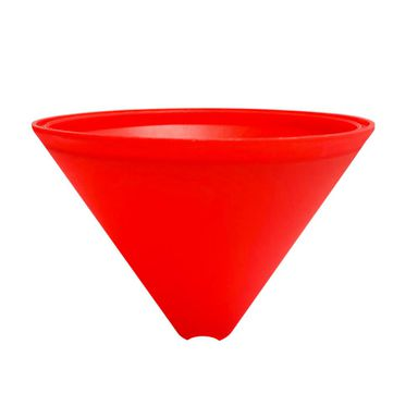 Podsufitka plastikowa czerwona LH0604