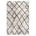 Dywan Sado biało-czarny 100 x 150 cm
