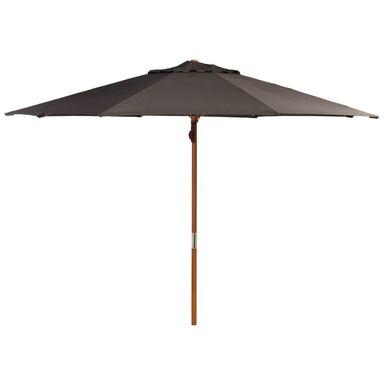 Parasol ogrodowy BAWARIA śr. 350 cm brązowy
