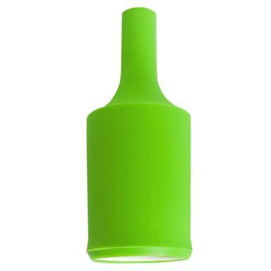 Oprawka SILIKONOWA E27 zielona LH0105