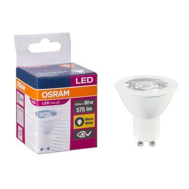 Żarówka LED GU10 (230 V) 6,9W 575 lm Ciepła biel OSRAM