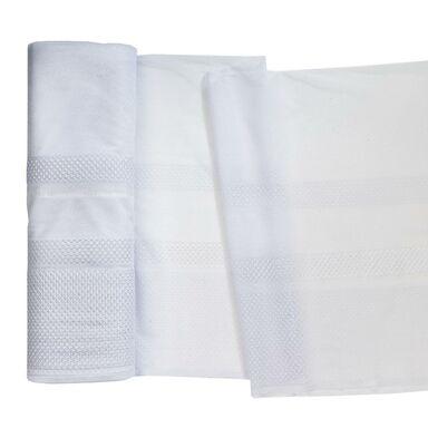 Firana na mb Dalmira biała w pasy wys. 160 cm