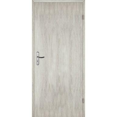 Skrzydło drzwiowe pełne ALBA Dąb silver 70 Prawe ARTENS