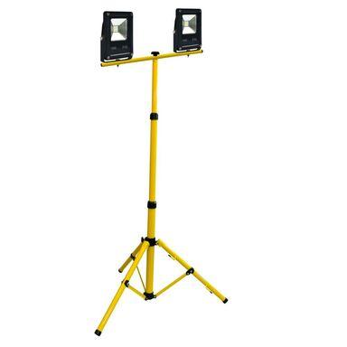 Oprawa reflektorowa ze statywem NAŚWIETLACZ LED + STATYW 20 W IP65: zabezpieczone przed strugą wody 6500 K  POLUX
