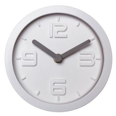 Zegar ścienny Scandi śr. 15.5 cm biały