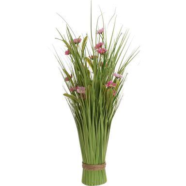 Bukiet sztucznych kwiatów 60 cm mix kolorów