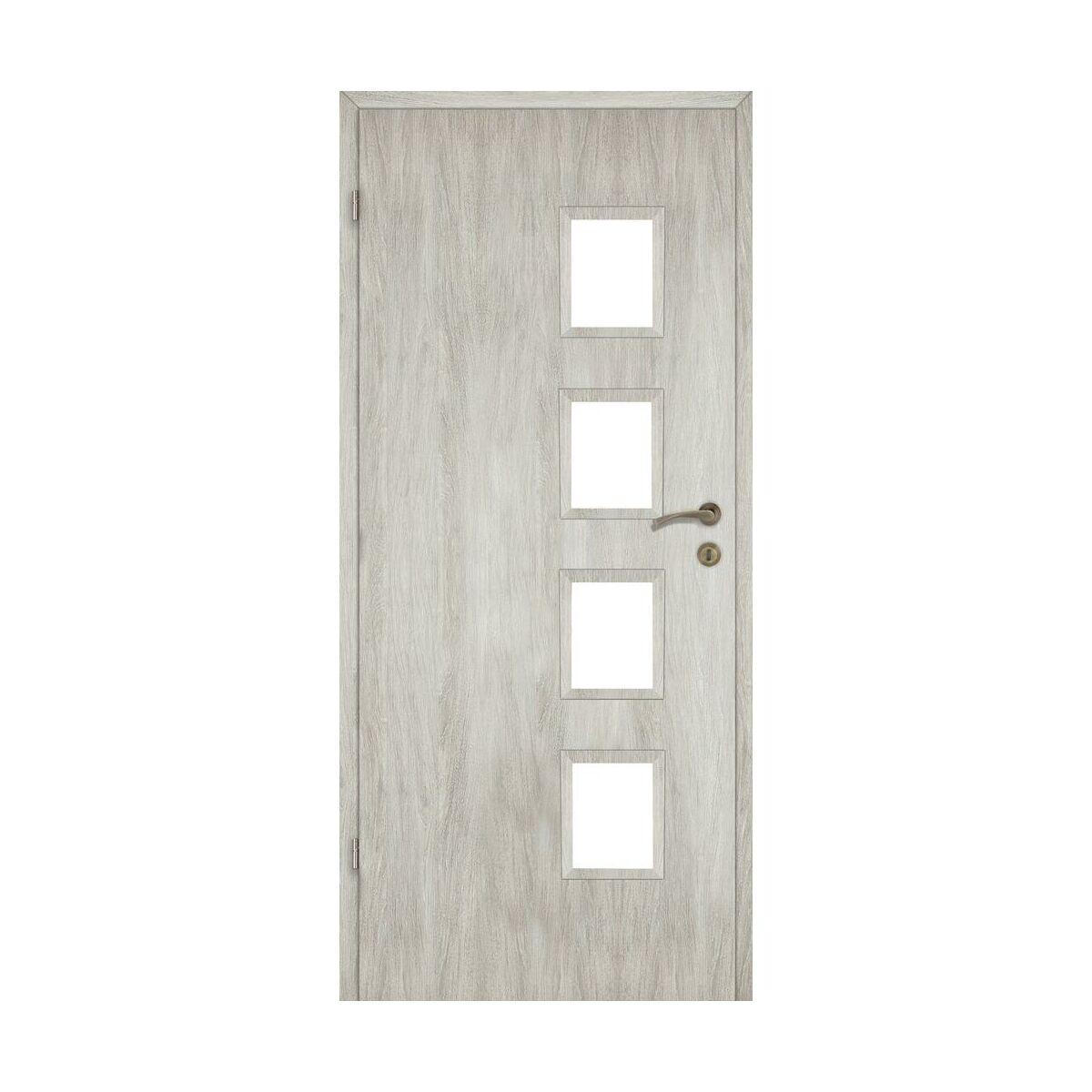 Skrzydlo Drzwiowe Pokojowe Alba Dab Silver 70 Lewe Artens Drzwi Wewnetrzne W Atrakcyjnej Cenie W Sklepach Leroy Merlin