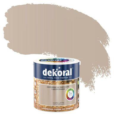 Farba wewnętrzna AKRYLIT W 2.5 l Cafe latte DEKORAL