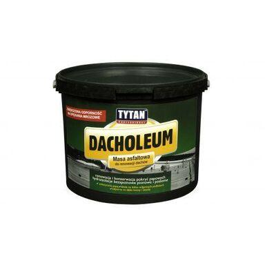 Masa asfaltowa do renowacji dachów DACHOLEUM 18 kg Tytan Professional