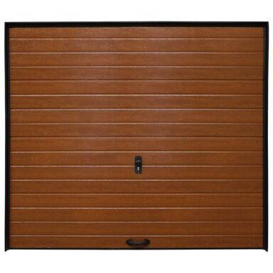 Brama garażowa SEGMENTOWA Z NAPĘDEM Złoty dąb ECO