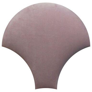 Panel ścienny tapicerowany Rybia łuska Wrzos flamingo