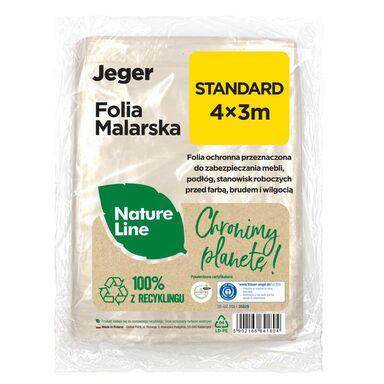 Folia malarska Nature Line Standard 4 x 3 m Jeger