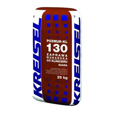 Zaprawa klejowa DO KLINKIERU POZMUR-KL 130 Szara 25 kg KREISEL