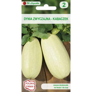 Nasiona warzyw LONG WHITE BUSH 2 Dynia zwyczajna (Kabaczek) W. LEGUTKO