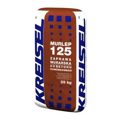 Zaprawa klejowa DO GAZOBETONU MURLEP 125 25 kg KREISEL