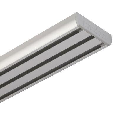 Szyna sufitowa 3-torowa 240 cm srebrna aluminowa MARDOM