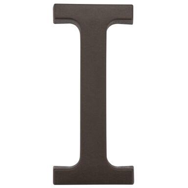 Litera I wys. 9 cm PVC brązowa