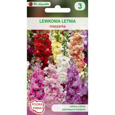 Nasiona kwiatów MIESZANKA Lewkonia letnia W. LEGUTKO