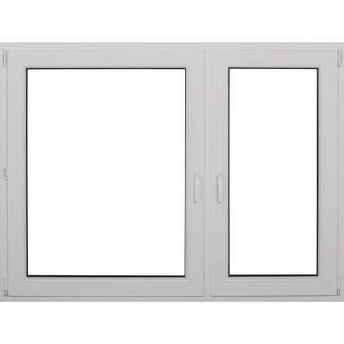 Okno PCV 2-szybowe O18 Białe 1465 x 1135 mm