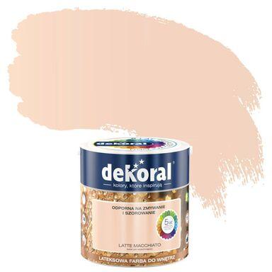 Farba wewnętrzna AKRYLIT W 2.5 l Latte macchiato DEKORAL