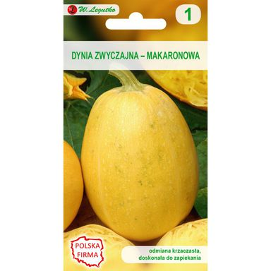 Dynia zwyczajna makaronowa (Cukinia) PYZA nasiona tradycyjne 1.5 g W. LEGUTKO