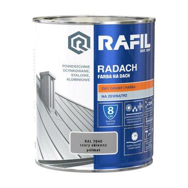 Farba na dach RADACH 0.75 l RAL-7040 Szary okienny RAFIL