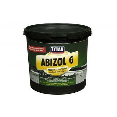 Masa szpachlowa asfaltowo-kauczukowa ABIZOL G 5 kg Tytan Professional