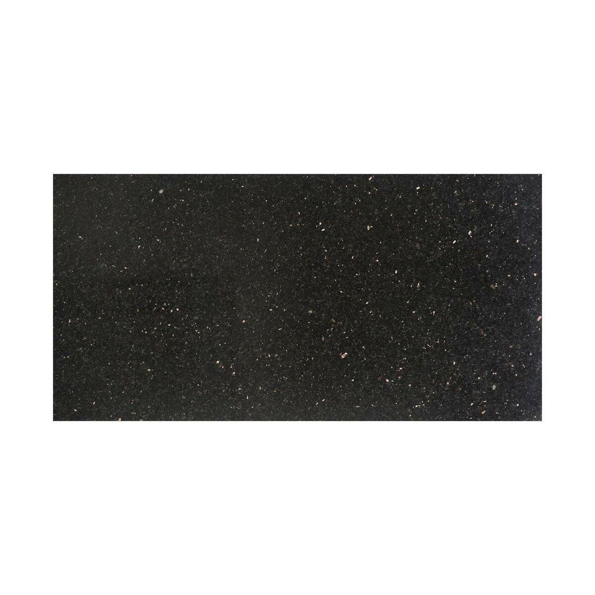 Plyta Granitowa Black Galaxy 30 5 X 61 Cm Marmara Granit W Atrakcyjnej Cenie W Sklepach Leroy Merlin