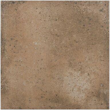 Gres szkliwiony CORTE CZERWONY 33 X 33  CERAMIKA GRES