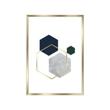 Obraz Hexagon 30 x 40 cm