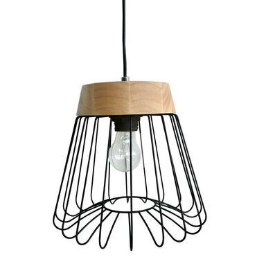 Lampa wisząca NIDO czarna E14 LIGHT PRESTIGE