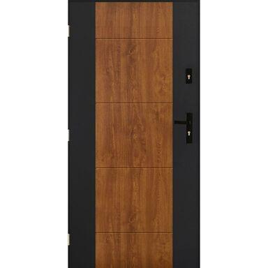 Drzwi wejściowe NICEA Złoty dąb 80 Lewe PANTOR