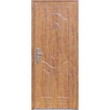 Drzwi wejściowe RA-07 Złoty dąb 80 Prawe OK DOORS TRENDLINE