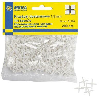 Krzyżyki 1,5 MM 200 SZT MEGA