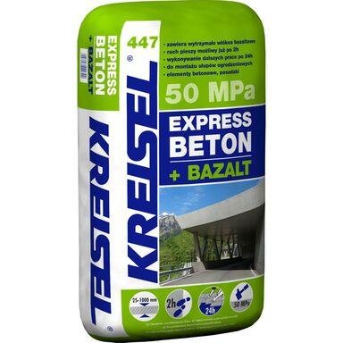 Wylewka betonowa EXPRESS BETON + BAZALT 447 25 kg KREISEL