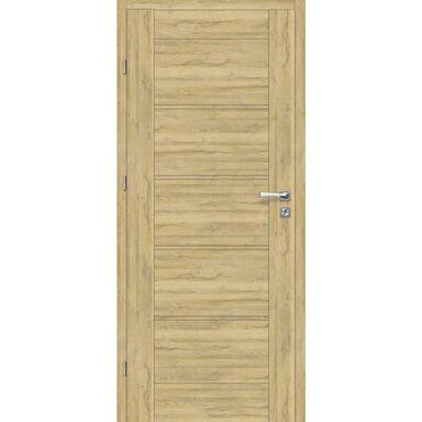 Skrzydło drzwiowe pełne Malibu Dąb Bawaria 80 Lewe Voster