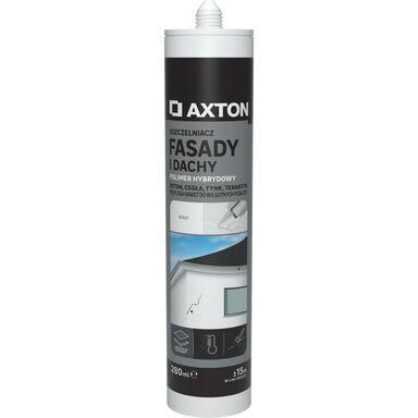 Uszczelniacz FASADY I DACHY 280 ml biały AXTON