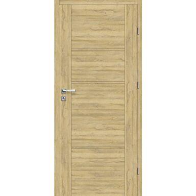 Skrzydło drzwiowe pełne Malibu Dąb Bawaria 80 Prawe Voster
