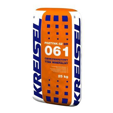 Tynk mineralny POZTYNK-SZ 061 25 kg KREISEL