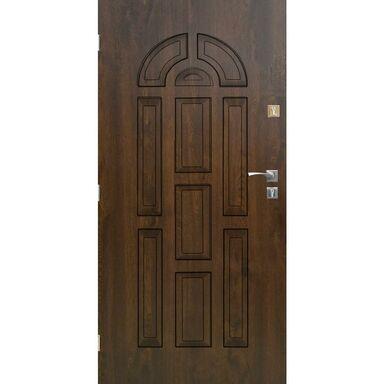 Drzwi wejściowe VALENCIA Orzech 90 Lewe SEDRO