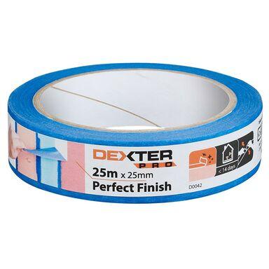 Taśma malarska PERFECT FINISH 25 mm x 25 m DEXTER