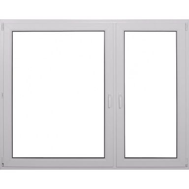 Okno PCV 2-szybowe O36 Białe 1765 x 1435 mm