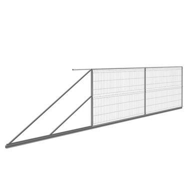 Brama przesuwna lewa STARK 400 x 150 cm POLBRAM