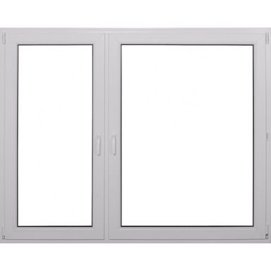 Okno PCV 2-szybowe O37 Białe 1765 x 1465 mm