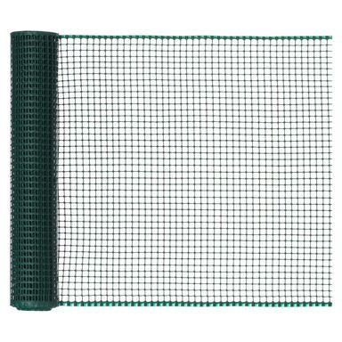 Siatka plastikowa 0.5 x 5 m zielona SQUARE NORTENE