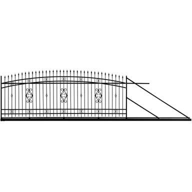 Brama przesuwna VERONA 400 x 140 cm prawa POLBRAM