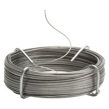 Drut stalowy nierdzewny 0.8 mm x 25 m Standers